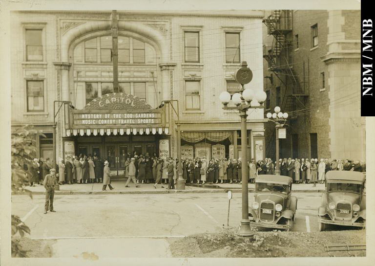 Photo of the Capitol Theatre Post-1929