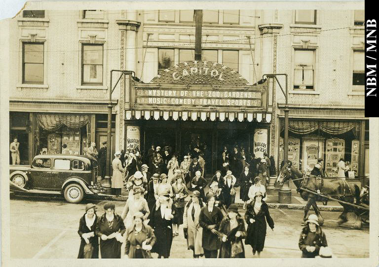 Photo of the Capital Theatre Post1-1929