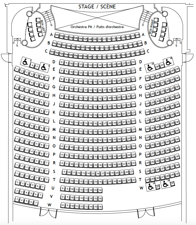 Photo fo Imperial Theatre Seating Plan - Orchestra